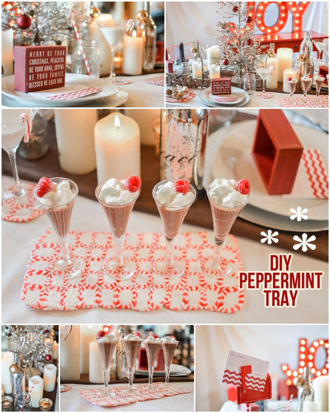 {Tutorial} How to Make a Peppermint Serving Tray!