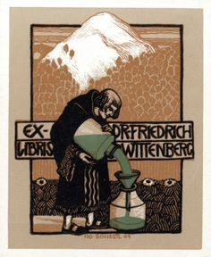 Ex Libris :: on Pinterest | Pratt Institute, Koloman Moser and Plates www.pinterest.com236 × 288Search by image Bookplate by Rudolf Schiestl for Friedrich Wittenberg, 1904