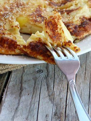 Pachade aux pommes Ariane {crêpe épaisse originaire du Cantal}