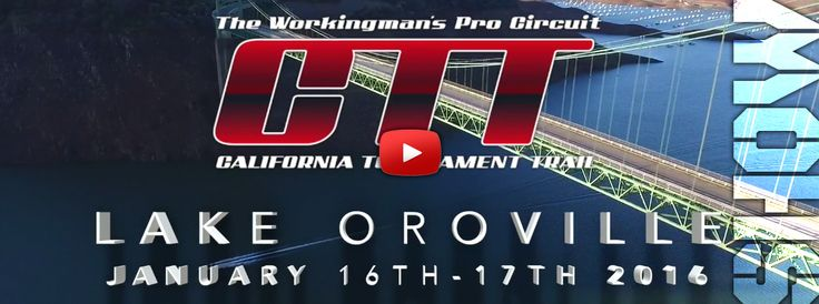2016 CTT Lake Oroville Pro/Am Bass Tournament - Full Show
