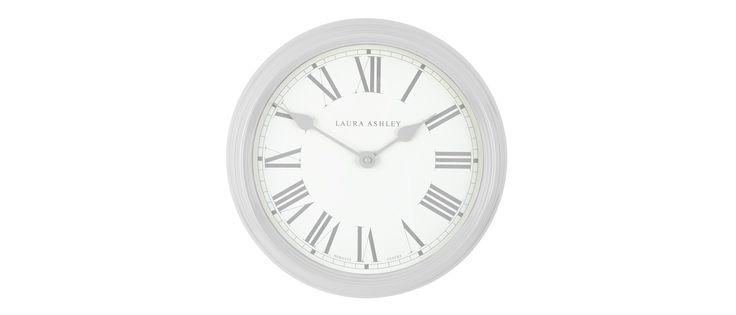 Dove Grey Gallery Wall Clock at Laura Ashley