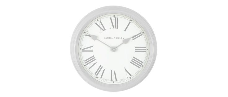Dove Grey Gallery Wall Clock at Laura Ashley