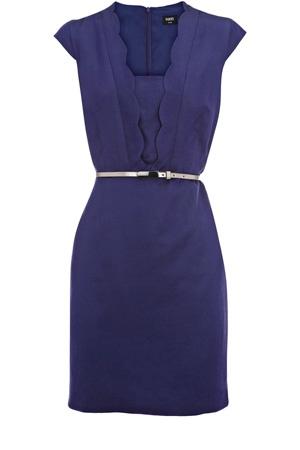 bleu: Pretty Dresses, Summer Fashion, Fashion Clothing, Gavin Scallops, Clothing Accessories, Beautiful Dresses, Purple Dress, Scallops Dresses, Scallop Dress