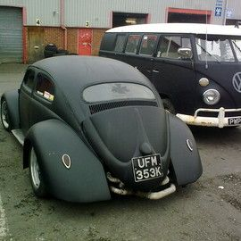 Volkswagen - SLEAD Rat Look Beetle Chop Top + Wide Fender ビートル