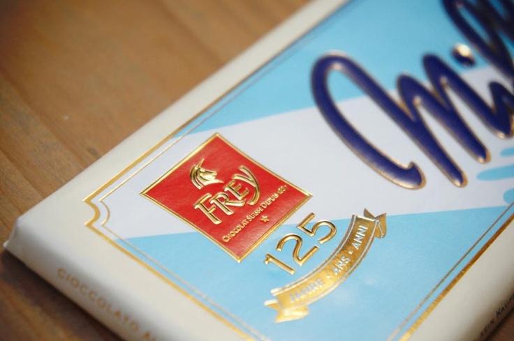 Vintage-Packaging-Linie für »Frey« Schokolade © Pixeldisko