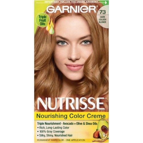 Garnier Nutrisse Nourishing Color Creme 73 Dark Golden Blonde