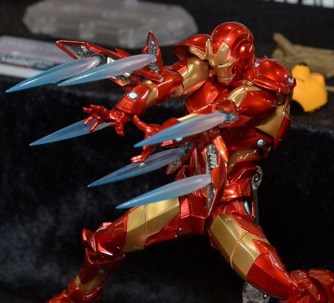 Mafex Miles Morales Spider Man Amazing Yamaguchi Revoltech Iron Man Revealed Iron Man Amazing Spiderman Iron Man Armor