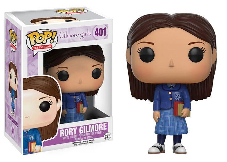 """RORY GILMORE COM O UNIFORME DE CHILTON  O amor por """"Gilmore Girls"""" não pode parar! A Netflix vai lançar a última temporada da serie mês que vem e para comemorar a Funko lançou uma coleção de bonequinhas das nossas personagens favoritas!"""