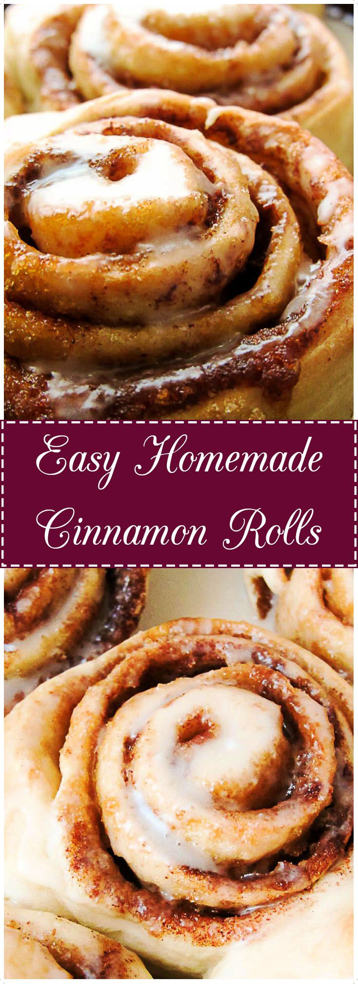 Cinnamon and brown sugar come together in this soft, warm, gooey, breakfast favorite.   They're so good, you'll actually look forward to getting out of bed.  via @berlyskitchen | https://lomejordelaweb.es/
