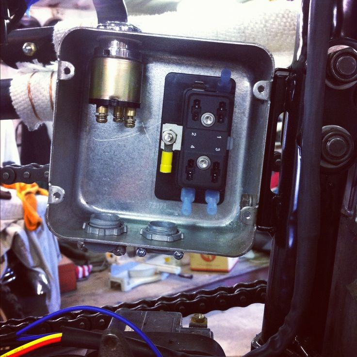 XS650 - Where are you hiding your electrics?