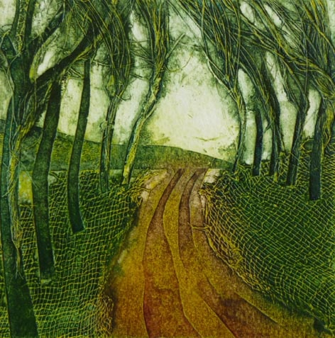 sarah ross thompson. collograph