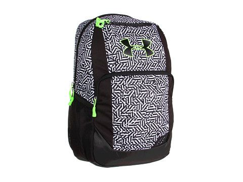 Under Armour UA Ozzie Backpack Black Steel White - Zappos.com Free Shipping  BOTH Ways  486847facf082