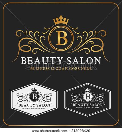 Luxury Logo For Salon Stock Photos, Images, & Pictures | Shutterstock