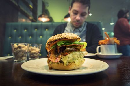 GBK Burger by Andy Kirby
