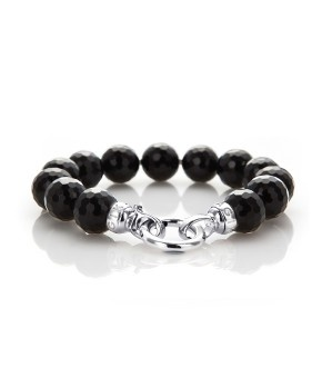 Jet Black (small bracelet) - this will team up with the matching 49cm jet black necklace from this range that i already own