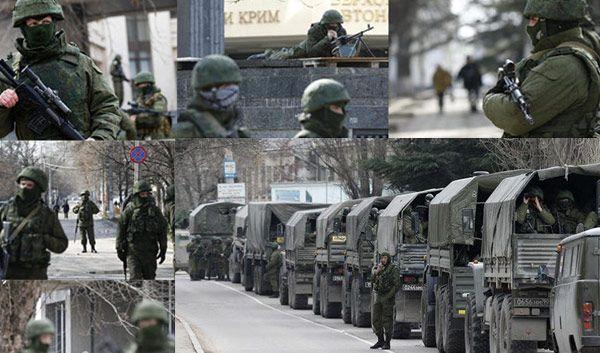 Ukraine and Russia - start of war?