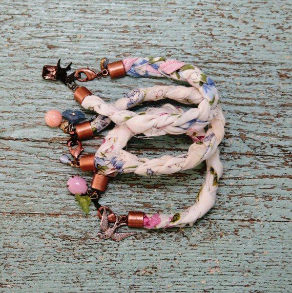 DIY Sweet Hankie Bracelets