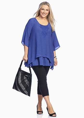 Plus Size women's Clothing, Large Size Fashion Clothes for WOMEN in Australia - LIBERTY TOP - TS14 Women Big Size Clothes - http://amzn.to/2ix7dK5