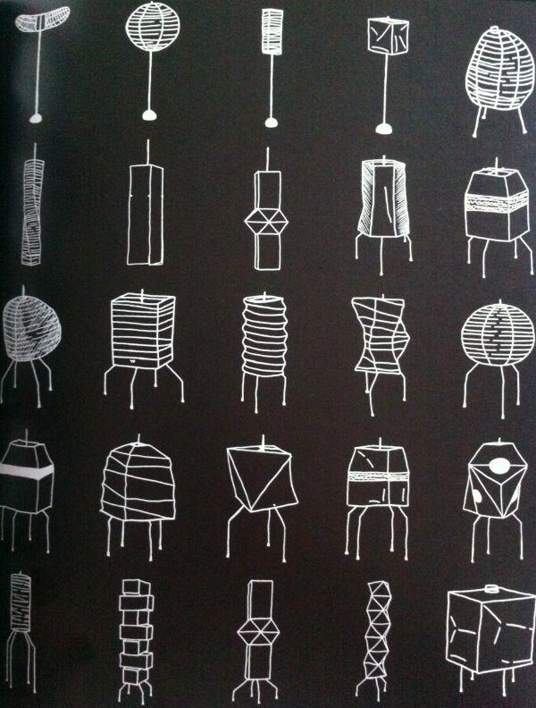 "The Noguchi Lamp: ""Akari"" Series  Pinned by a Taste Setter: www.thetastesetters.com"