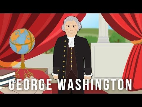 George Washington Biography (History for Kids) Educational Videos for Students Cartoon Network - YouTube