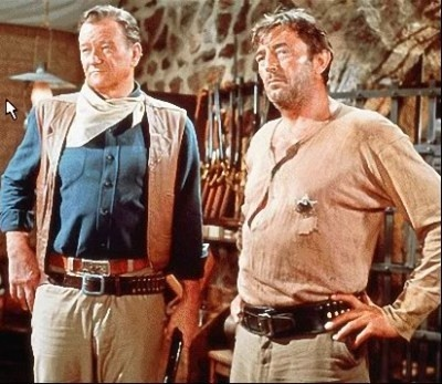 El Dorado, John Wayne and Robert Mitchum...... great scene..... and awesome movie!