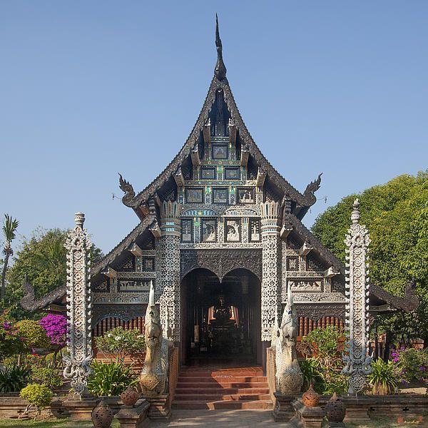 2013 Photograph, Wat Lok Molee Phra Wihan, Tambon Sri Phum, Mueang Chiang Mai District, Chiang Mai Province, Thailand, © 2013.  ภาพถ่าย ๒๕๕๖ วัดโลกโมฬี พระวิหาร ตำบลศรีภูมิ เมืองเชียงใหม่ จังหวัดเชียงใหม่ ประเทศไทย