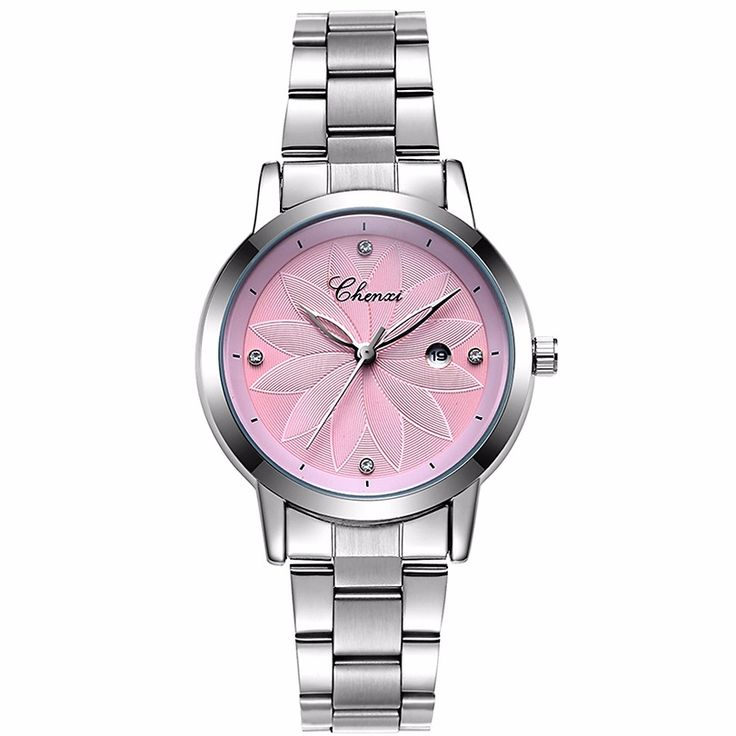 CHENXI New Fashion Calendar Dial Women Quartz Watches Ladies Steel Watchband Wristwatches Women's Fashion