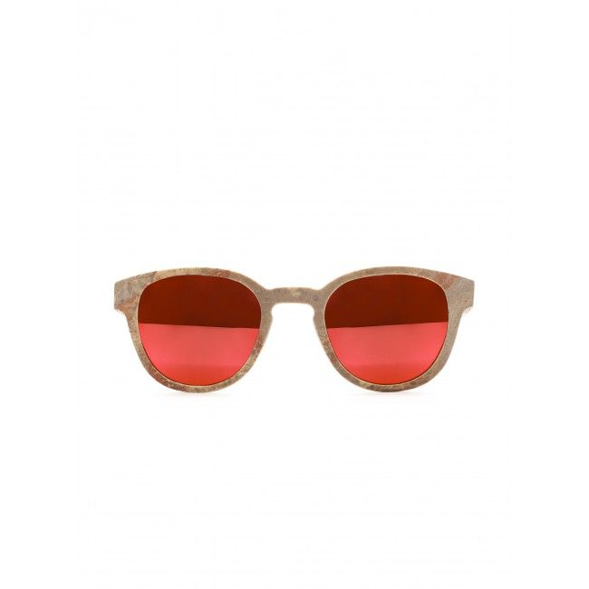 Wooden sunglasses with real stone by the Swiss brand Einstoffen. #woodensunnglasses #wood #stone #sunglasses