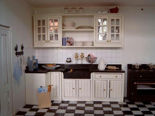 Mini boeren keuken