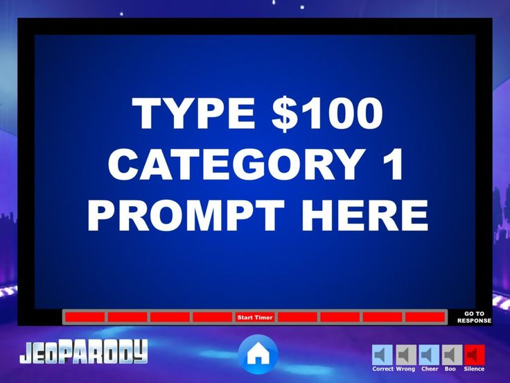 41++ Create jeopardy game powerpoint template collection