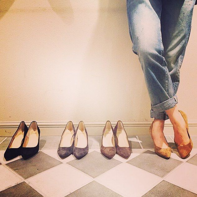 【IENA SLOBE】@ienaslobe #suede #pumps #パンプス #photo #photooftheday #fashion #shoes #footwear #newshoes #baycrews #
