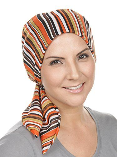 bb9bd7a59bb New Chemo Fashion Scarf Easy Tie Padded Cotton Lined Turban Hat Headwear  for Cancer.   19.98 - 24.98  from top store findanew