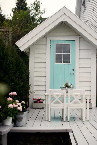 #cute #blue #doors