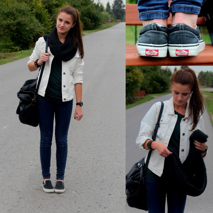 vans slip on outfit