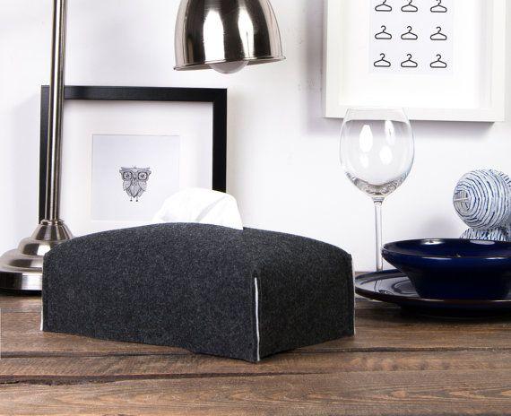 Housewarming Kleenex box cover home decor tissue box by POPEQ