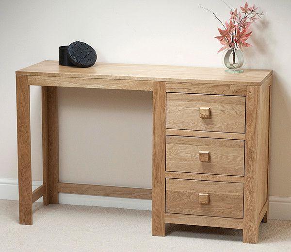 Oakdale Solid Oak Furniture Range Bedroom |Oak Dressing Table/Desk Oak  Furniture Land Www