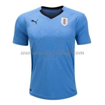 Billige Fotballdrakter Uruguay VM 2018 Hjemme Draktsett