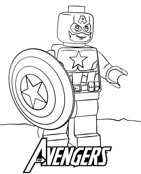 The Best Of Captain America Coloring Pages Captain America