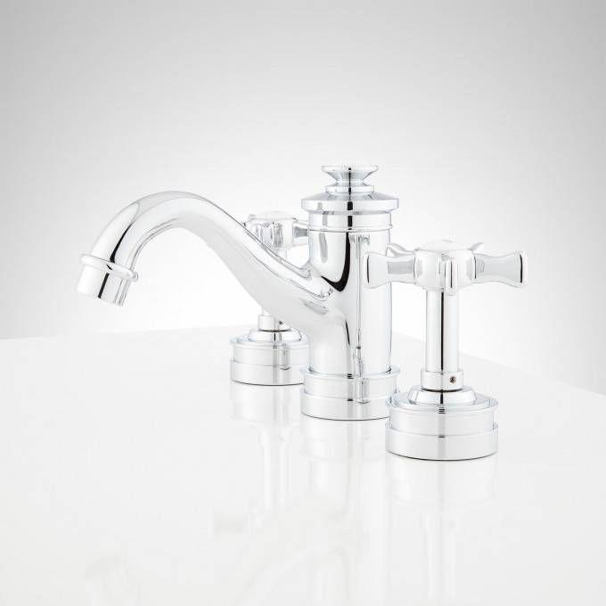 Mellwood Widespread Bathroom Faucet With Cross Handles Bathroom