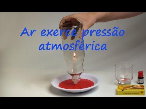 [ Experimento ] E003 Propriedades do Ar / Pressão atmosférica I - YouTube