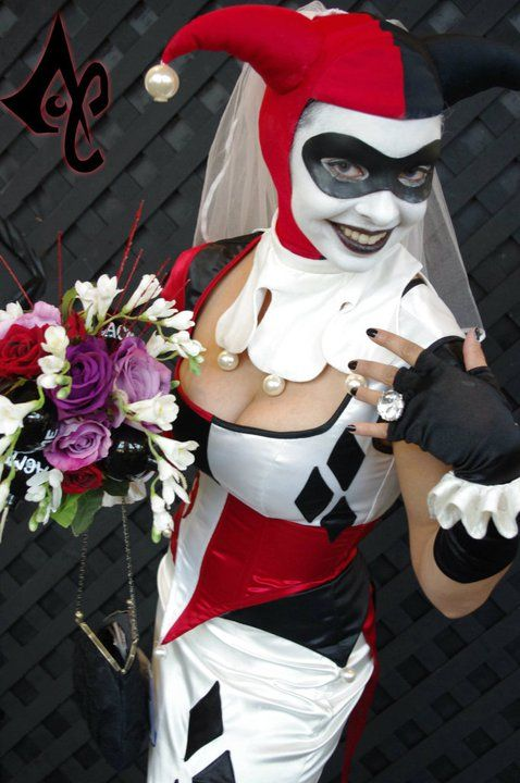 Harley Quinn Wedding Dress Batman Wedding Ideas Pinterest Harley Quinn