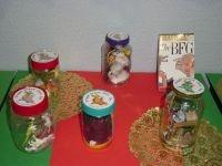 make dream jars after reading the BFG by Roald Dahl
