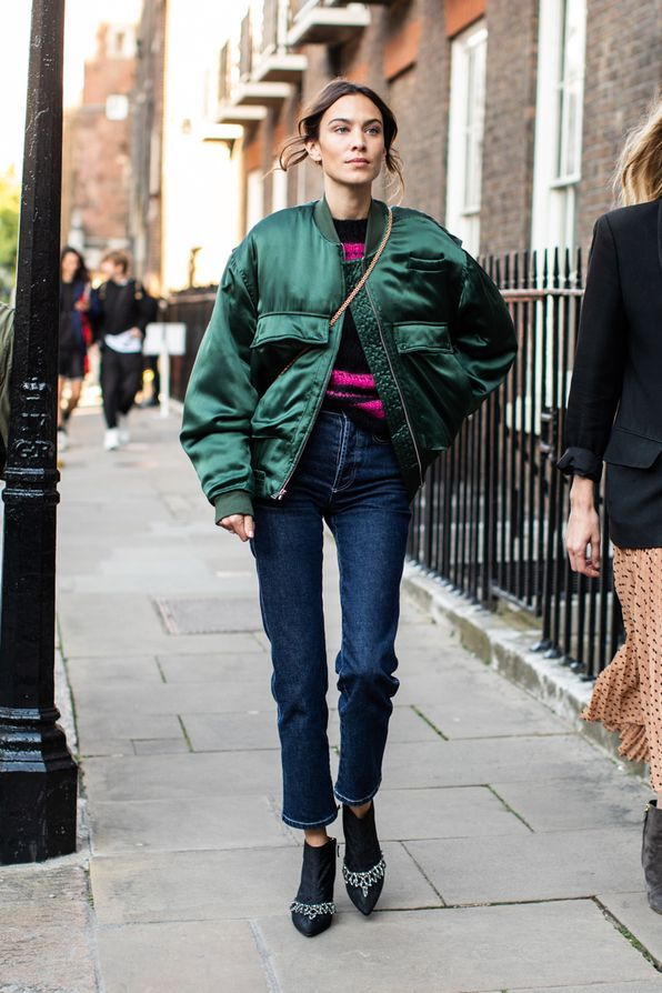 Streetstyle at the London Fashion Week Spring-Summer 2019