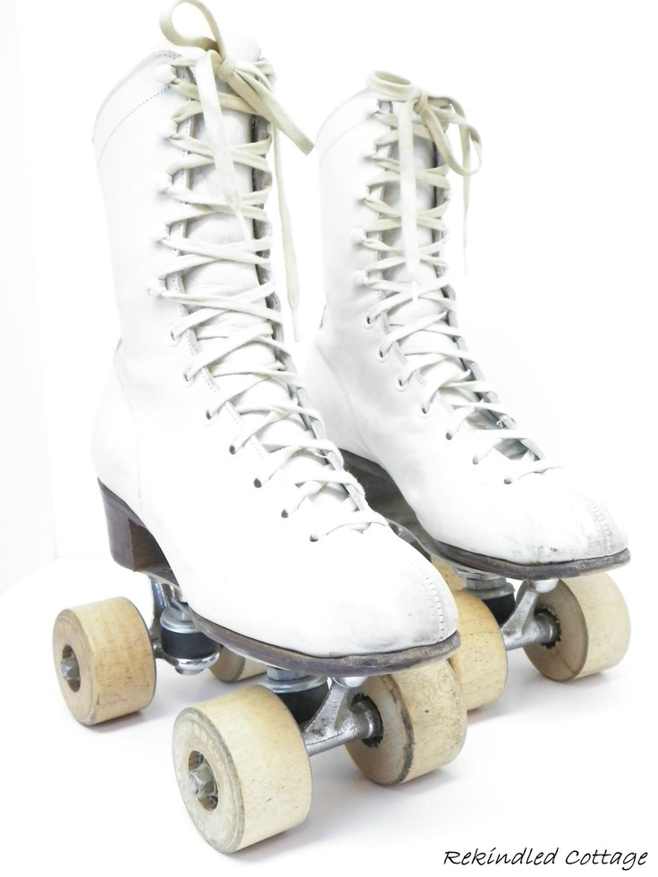 Vintage Roller Skates. Wish I kept my skates from when I was a kid, have you seen the price of a new pair? ouch.