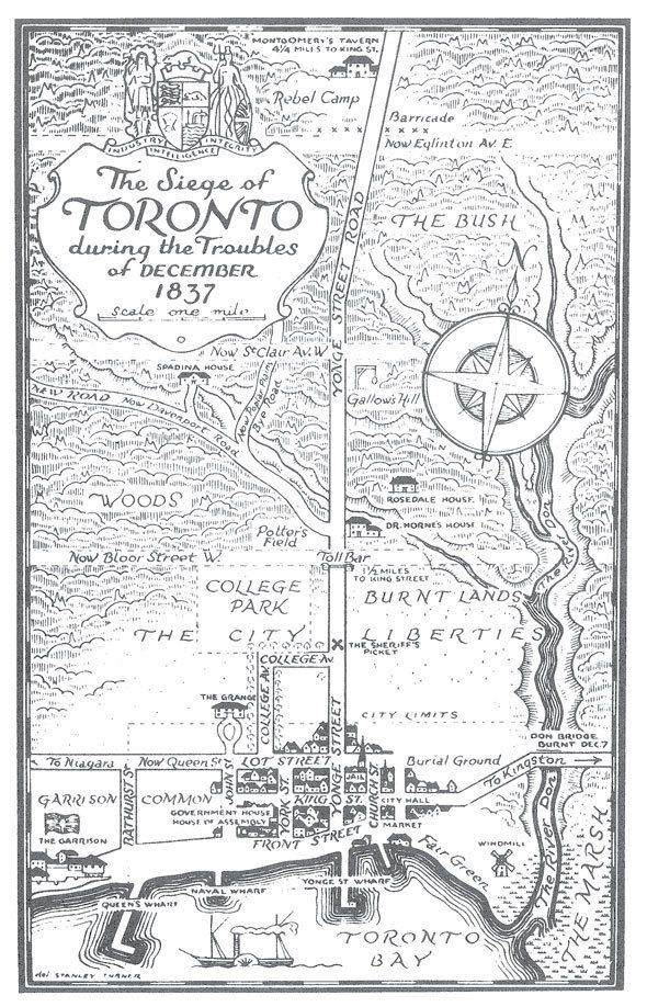 The Siege of Toronto during the Troubles of December 1837 #cdnhistory