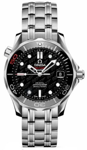 10% Off was $6,895.00, now is $6,195.00! NEW OMEGA SEAMASTER 007 JAMES BOND 50TH ANNIVERSARY LIMITED EDTION MIDSIZE WATCH 212.30.36.20.51.001