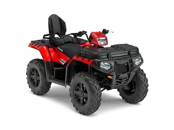 New 2017 Polaris Sportsman Touring 850 SP Sunset Red ATVs For Sale in North Carolina.