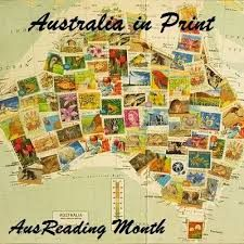 Australia collage with book covers