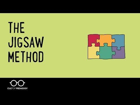 the effectiveness of the jigsaw approach The cooperative learning institute is dedicated to increasing the use and study of cooperation in the  process the effectiveness of their learning groups.