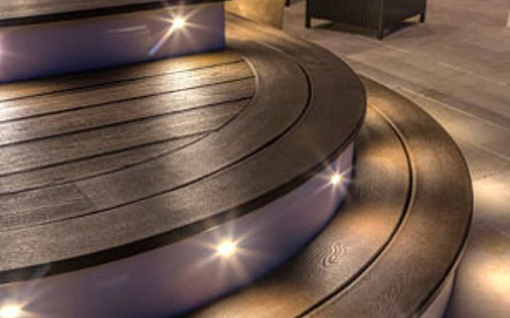 Photo gallery of Trex Deck Lighting installed on decks for design ideas and planning | Trex